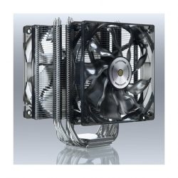 Xigmatek CPU cooler VENUS (26dB, 12cm, 6 heatpipe, 4pin)